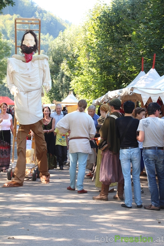 Riesen Marionette in Hallein